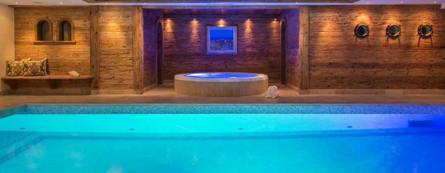 Chalet Makini In Verbier Indoor Pool