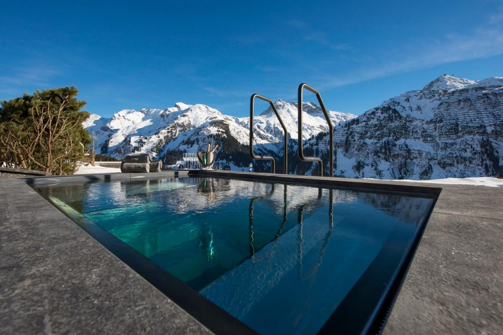 Chalet Uberhaus Lech Outdour Pool
